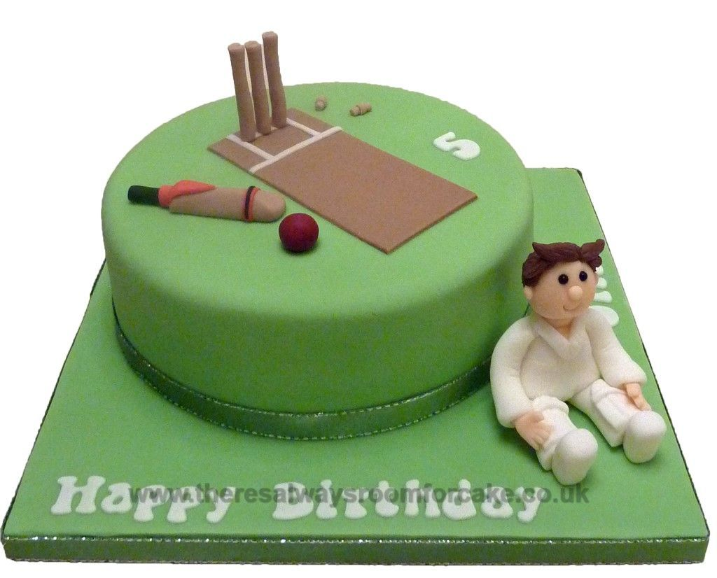 Cricket Birthday Cake birthday ideas Pinterest ...
