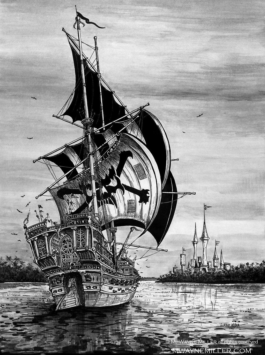 Pirate Ship by gjsx51.deviantart.com on @deviantART ...