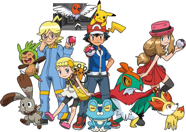 Resultado De Imagem Para Pokemon Xy Pokemon Temporadas Pokemon