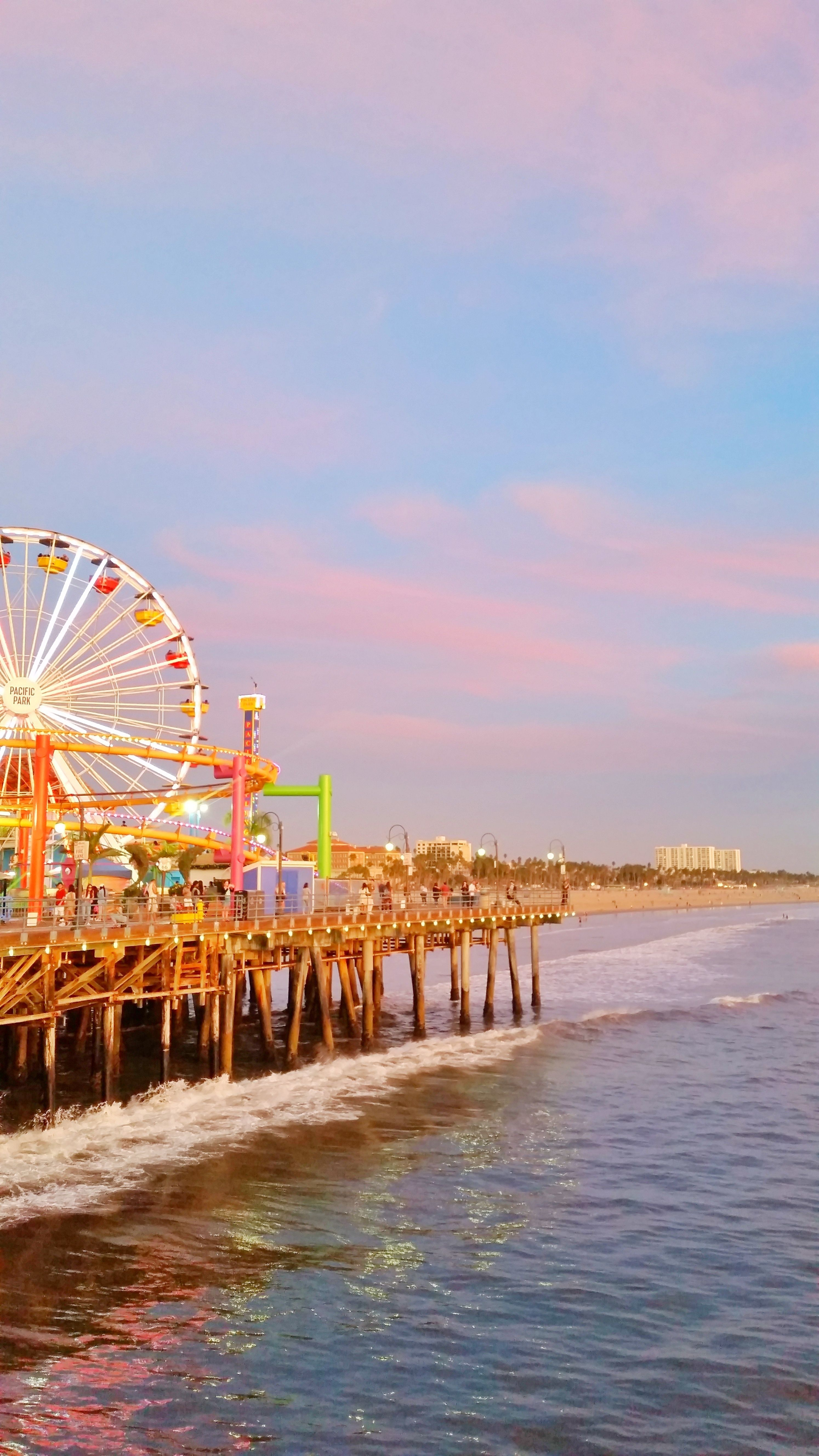 Los Angeles California sunset beach picture -   #angeles #beach #california #OutdoorTravelAdventure #picture #sunset