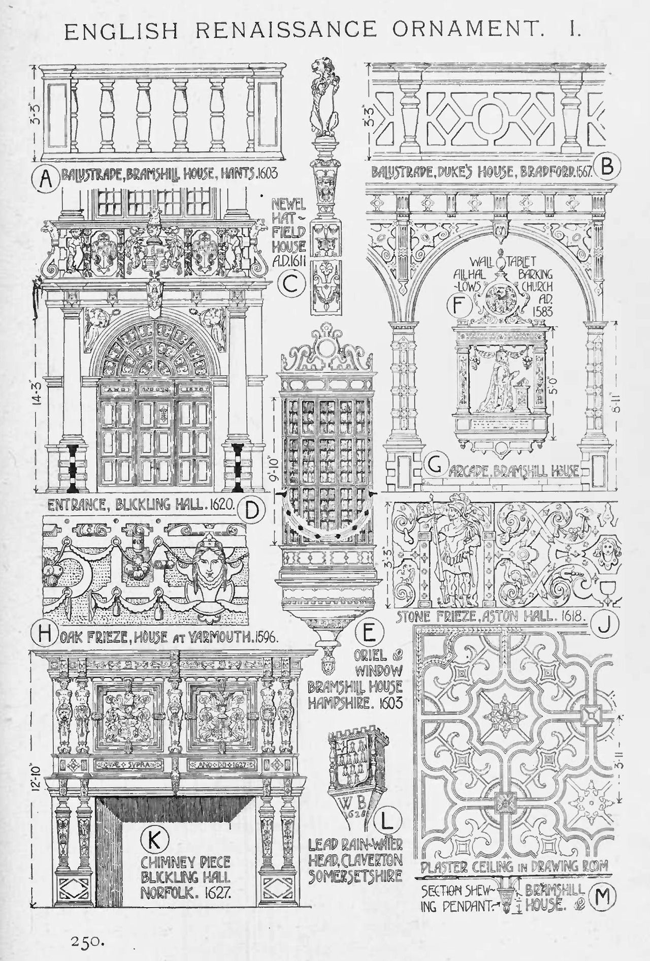 Best Kitchen Gallery: English Renaissance Ornaments A History Of Architecture On The of English Renaissance Architecture on rachelxblog.com