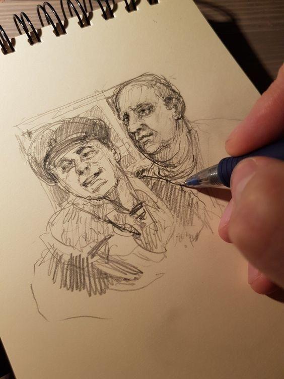 62 Sketchbook Idées de dessin au crayon - Art