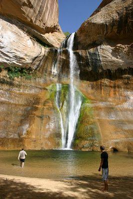 Waterfall Hiking in Utah - a collection of great waterfall hikes in Utah