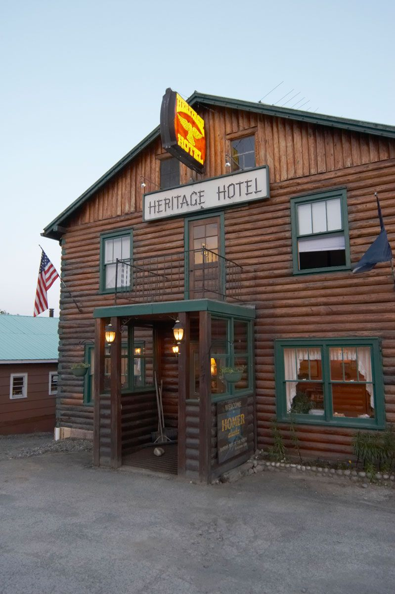 Heritage Hotel Homer Alaska This Place Is So There Must Be Something Wrong