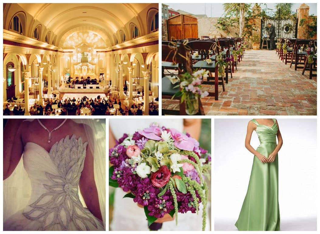 The Princess and The Frog Wedding Inspiration Board - New Orleans ...