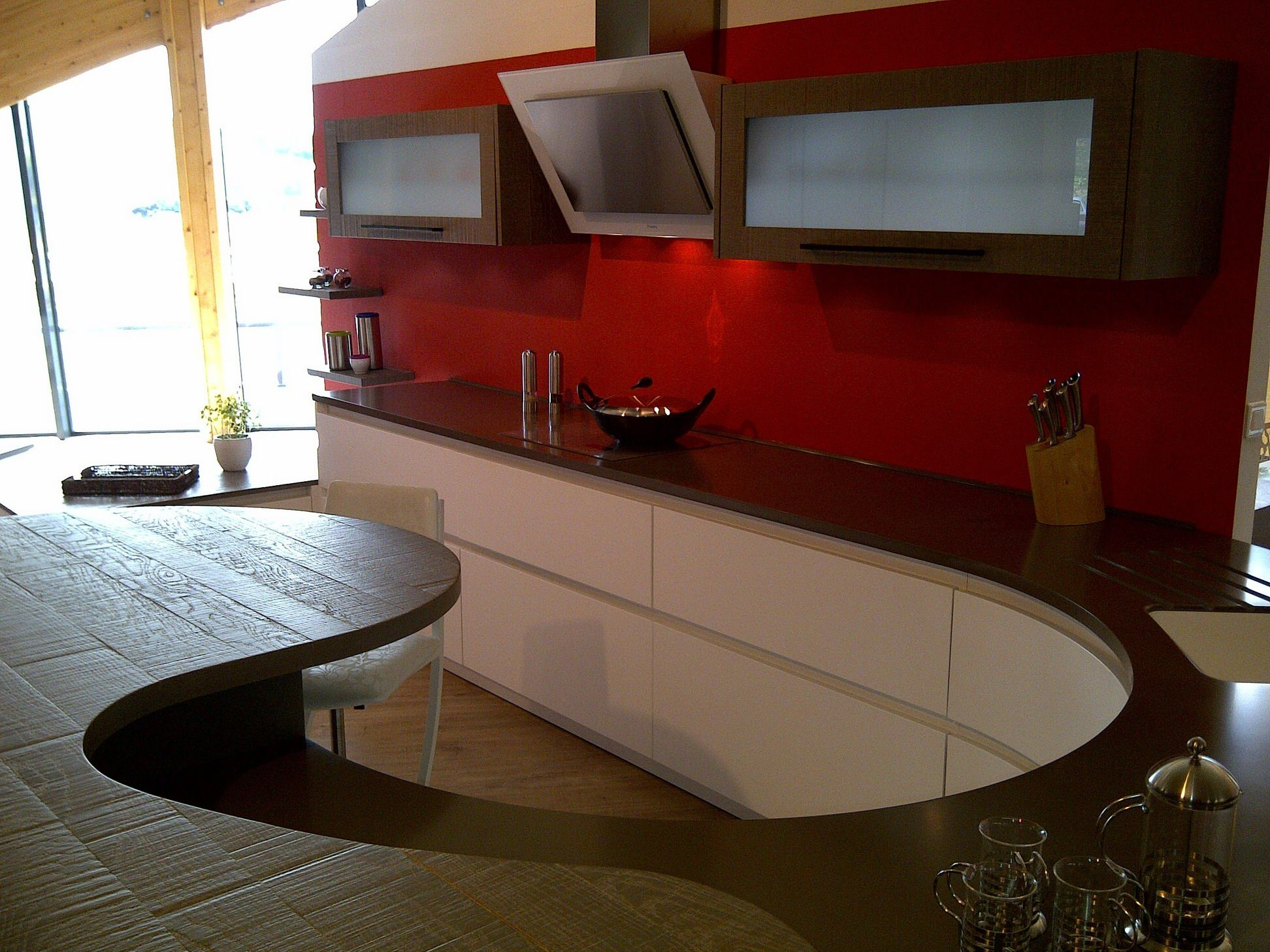 Campana extractora de pared pando p 731 cocinas con for Guardas decorativas para cocina