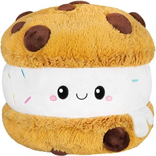 "Squishable / Comfort Food Cookie Ice Cream Sandwich 15"" Plush"