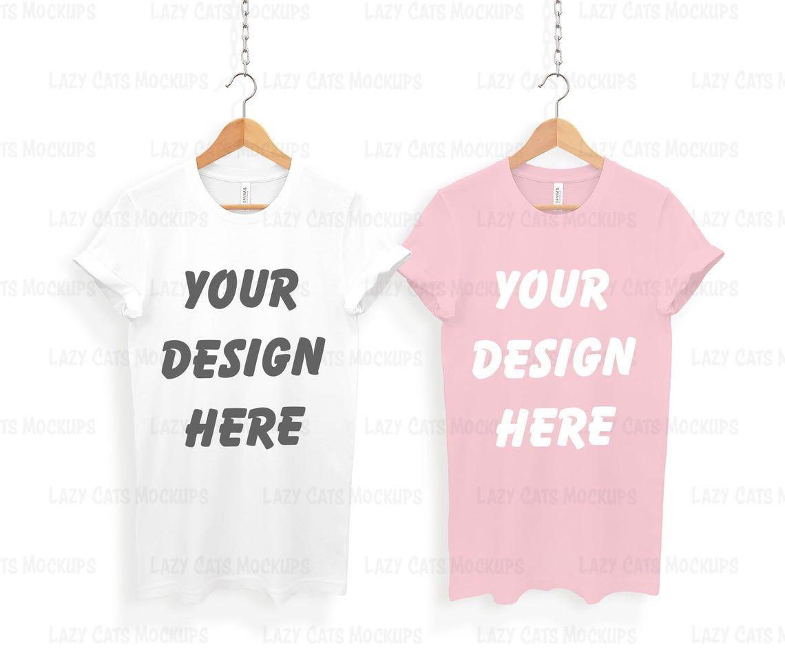 Download Pin On Bella Canvas 3001 T Shirt Mockups