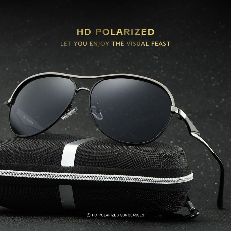 970ae3dc5f New men Polarized Sunglasses Blue film section of the driving mirror Outdoor  Fishing Sunglasses
