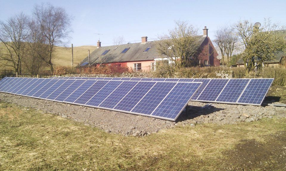 Ground Array rr_ltd Renewable Resources Roof solar