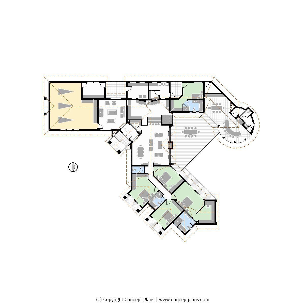 cp0497 1 5s4b3g house floor plan pdf cad - Versand Container Huser Plne Pdf