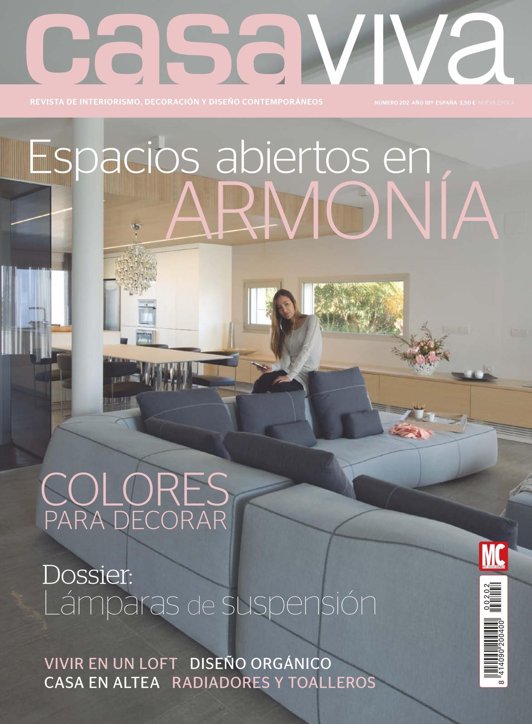 Revista Casa Viva 19 Espacios Abiertos En Armon A Colores Para Decorar Revistas De