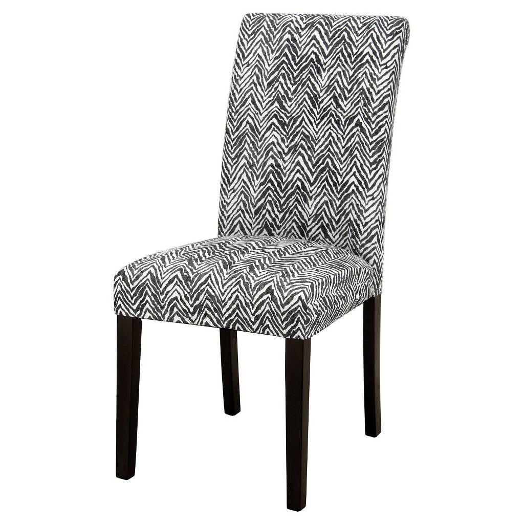 Avington Print Accent Dining Chair. Image 3 of 4. Dining