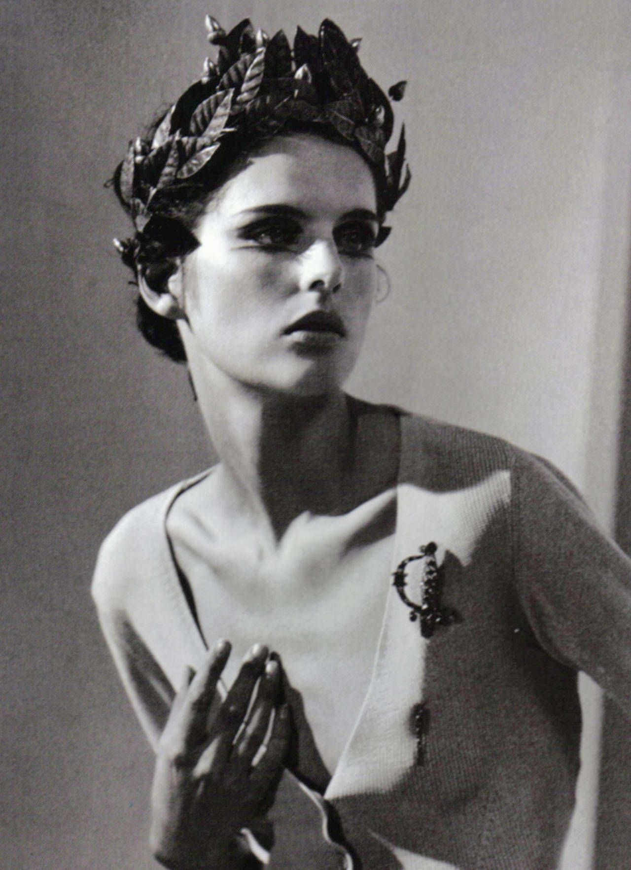 """""""Vision"""" Stella Tennant photographed by Steven Meisel for Vogue Italia 1996"""
