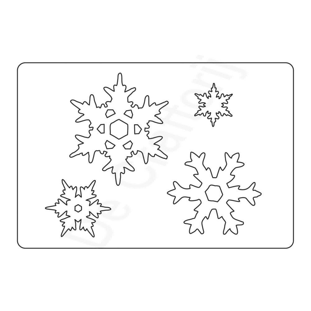 Sizzix - Bigz L Die Stacked Snowflakes Price €22,95