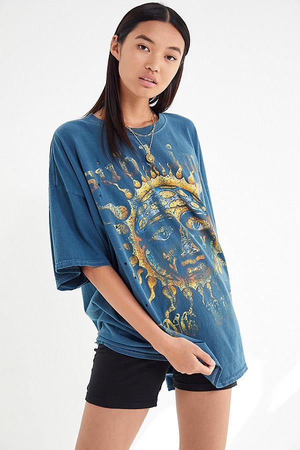 Sublime T-Shirt Dress #granolagirlaesthetic