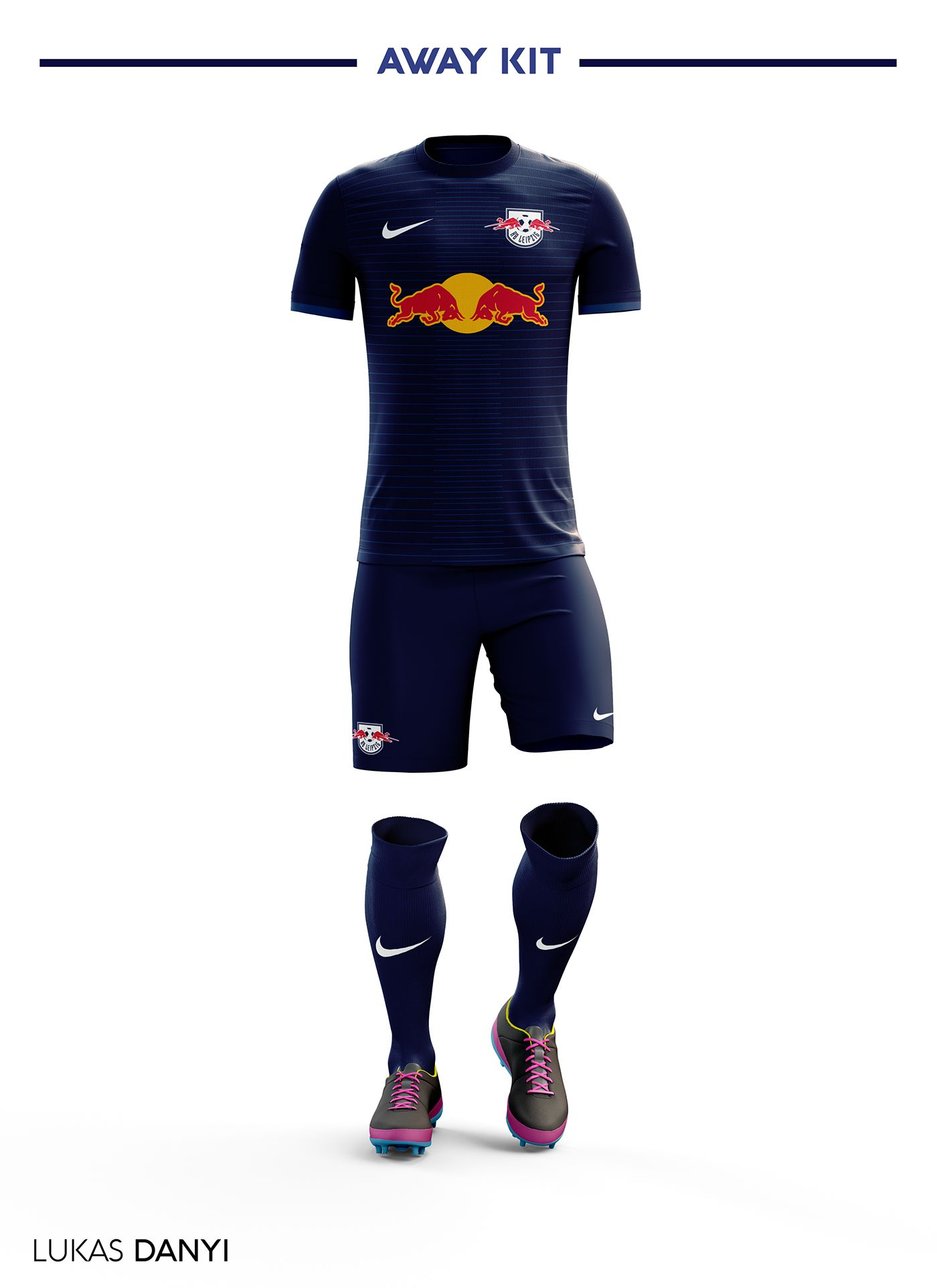 9a44328d82f I designed football kits for RB Leipzig for the upcoming season 17 ...