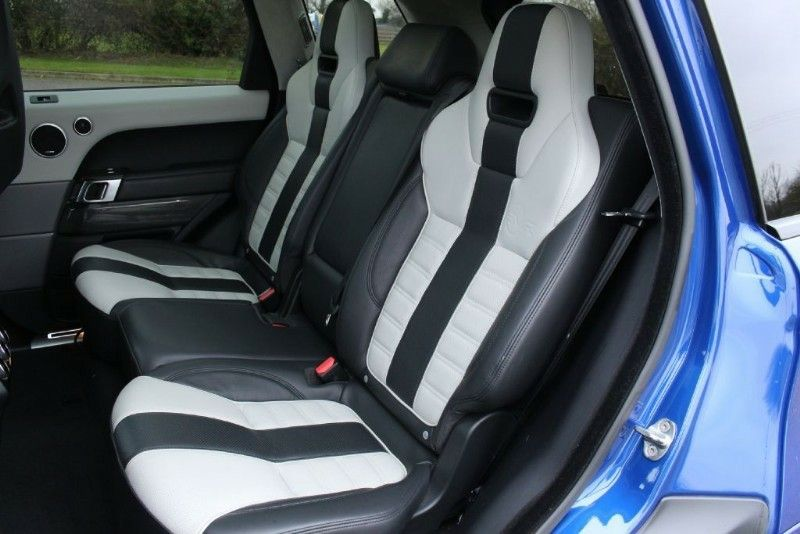 Range Rover Sport SVR (20142018). Interior