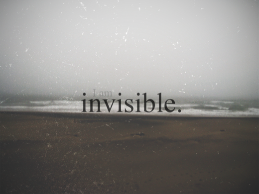 Image result for i am invisible