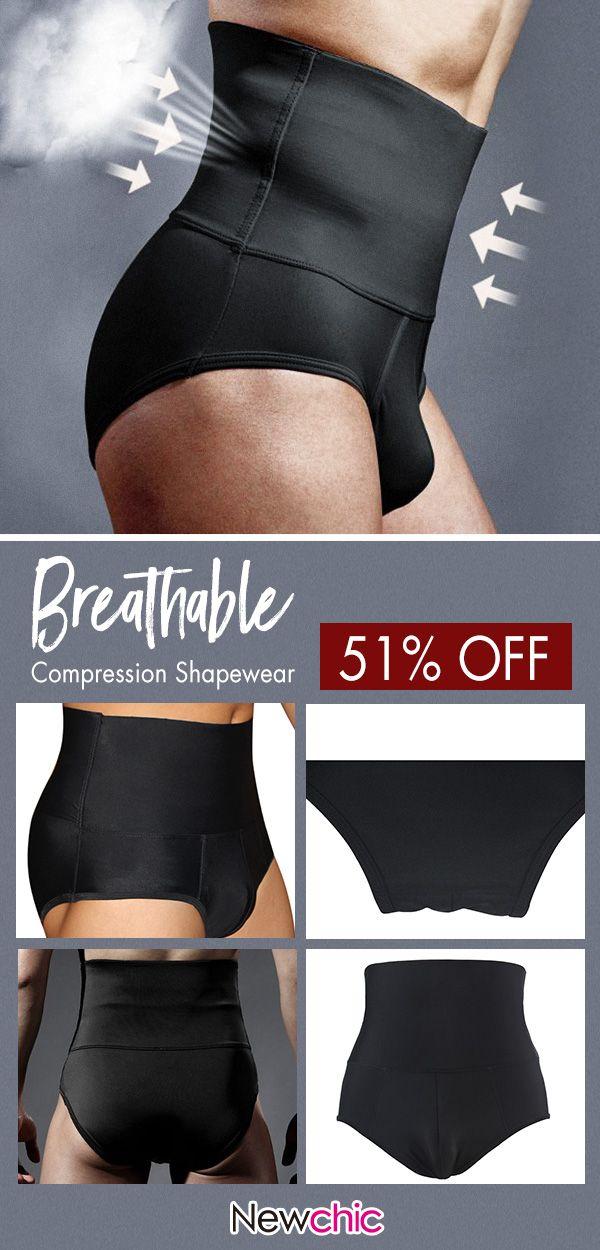 79e6858c3e62d  Get Slim Now Mens Slimming Shaper Belt Waist Sweat Workout Underwear Butt  Lifter Loss Fat Burner Bodysuit  fitness  menswear  gym