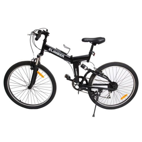 """36424 bicycles 26"""" Folding Mountain Bicycle 6 Speed Shimano Foldable Bike Black Color  BUY IT NOW ONLY  $134.1 26"""" Folding Mountain Bicycle 6 Speed Shimano Foldable Bike Black Color..."""