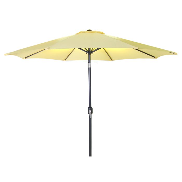 9 Steel Market Umbrella Patio Umbrellas
