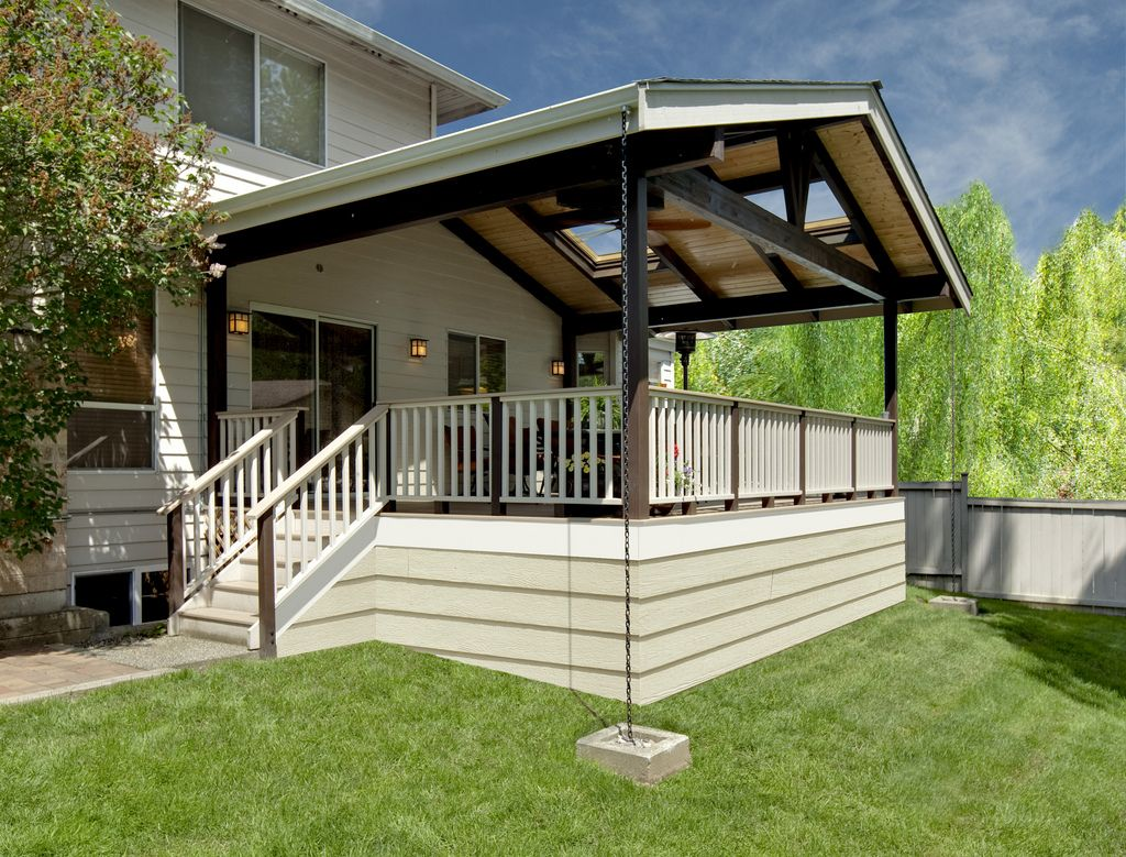 Covered deck Patio design, Back patio, Covered decks
