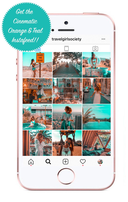 Orange And Teal Lightroom Mobile And Desktop Presets She Will Spill Instagram Aesthetic Lightroom Presets Lightroom