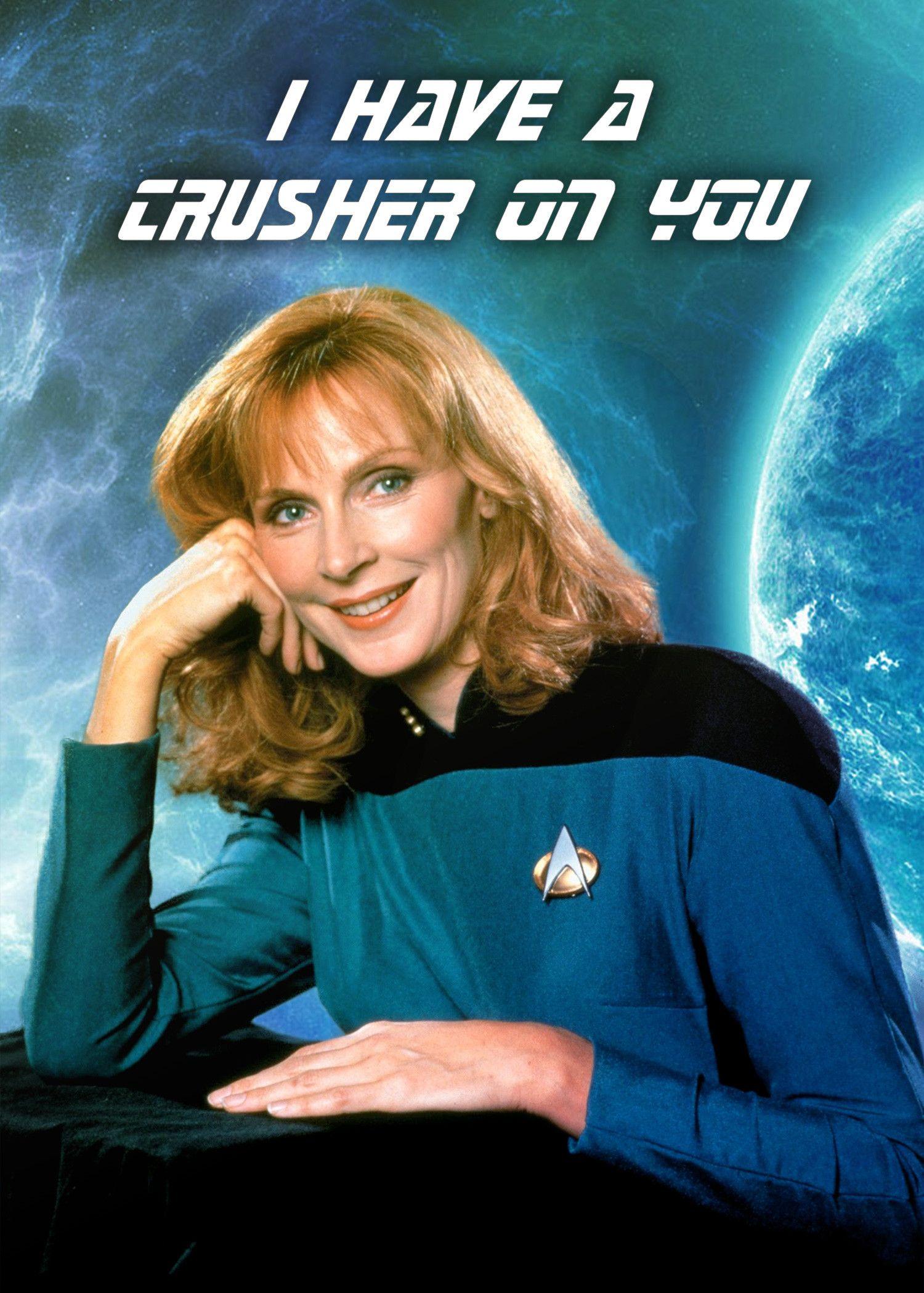 Star Trek Valentines: Doctor Beverly Crusher