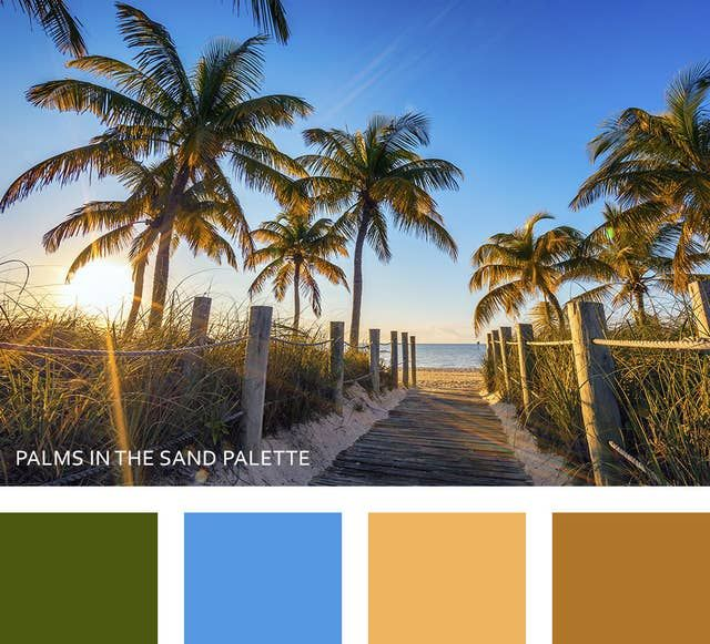 10 Color Palettes Inspired By The Beauty Of Florida