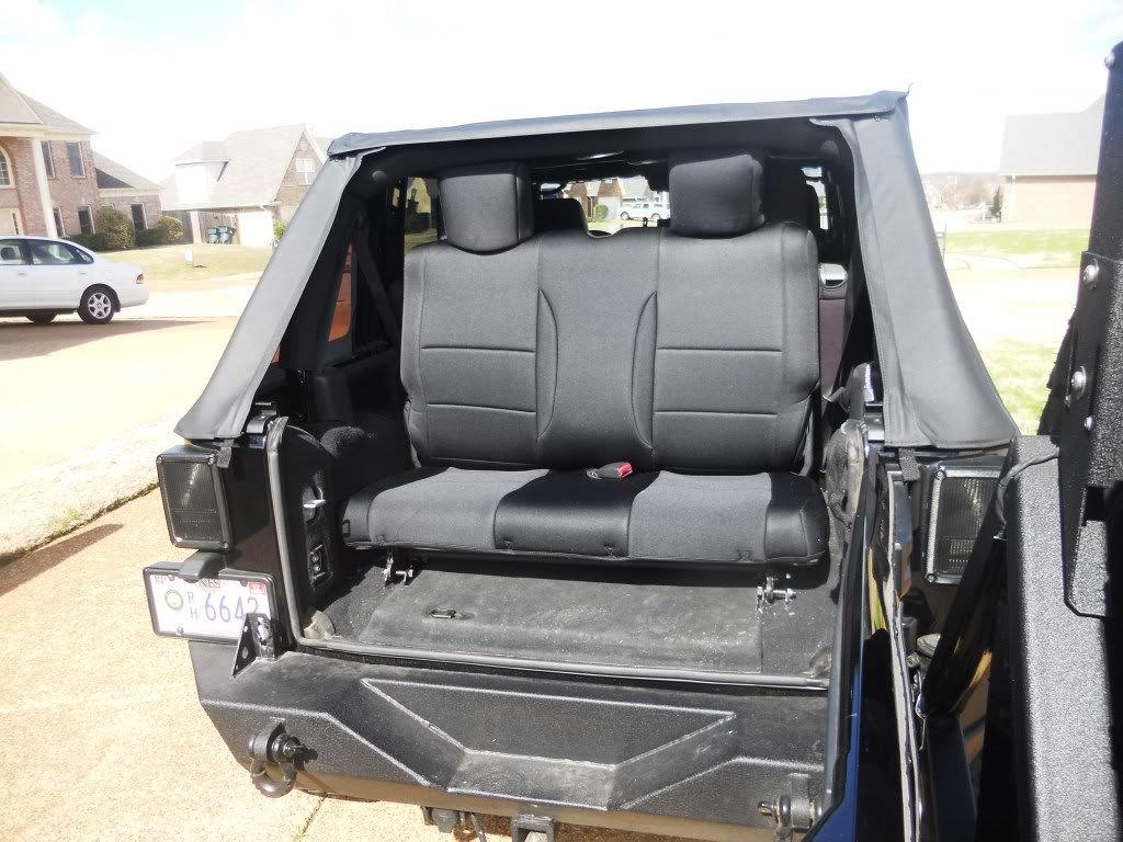 Jeep JK 3rd Row Seat Write Up   4x4 and Jeep Stuff   Pinterest ...