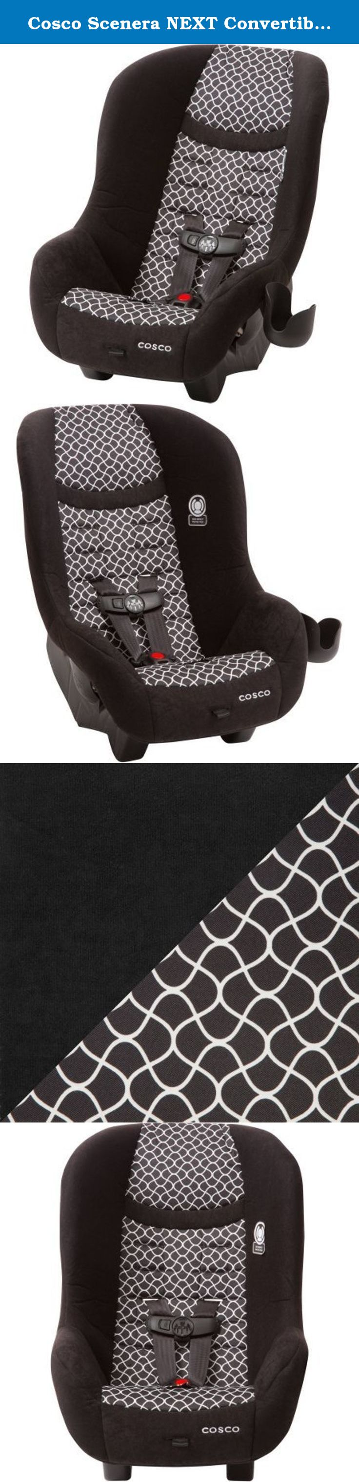 Cosco Scenera NEXT Convertible Car Seat Otto It Keeps Kids Safer With Side Impact