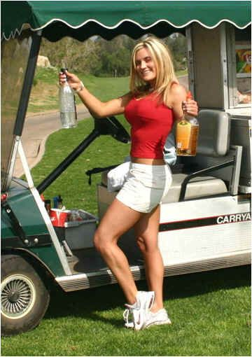 golf cart girls Amateur