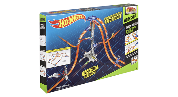 Hot Wheels Track Builder Tower Startset Hot Wheels Leksaker Onskelista
