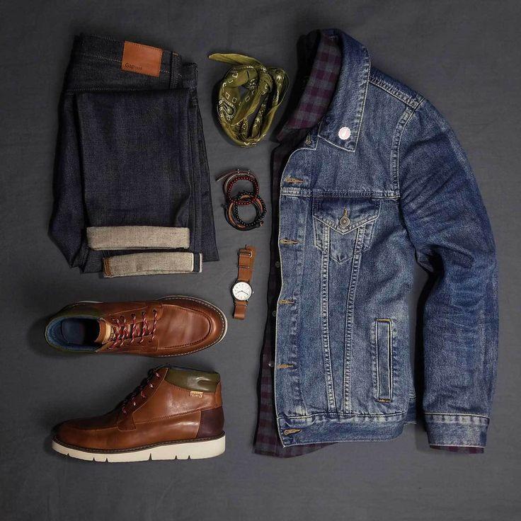 How To Wear A Denim Jacket For Men | Denim jacket men ...