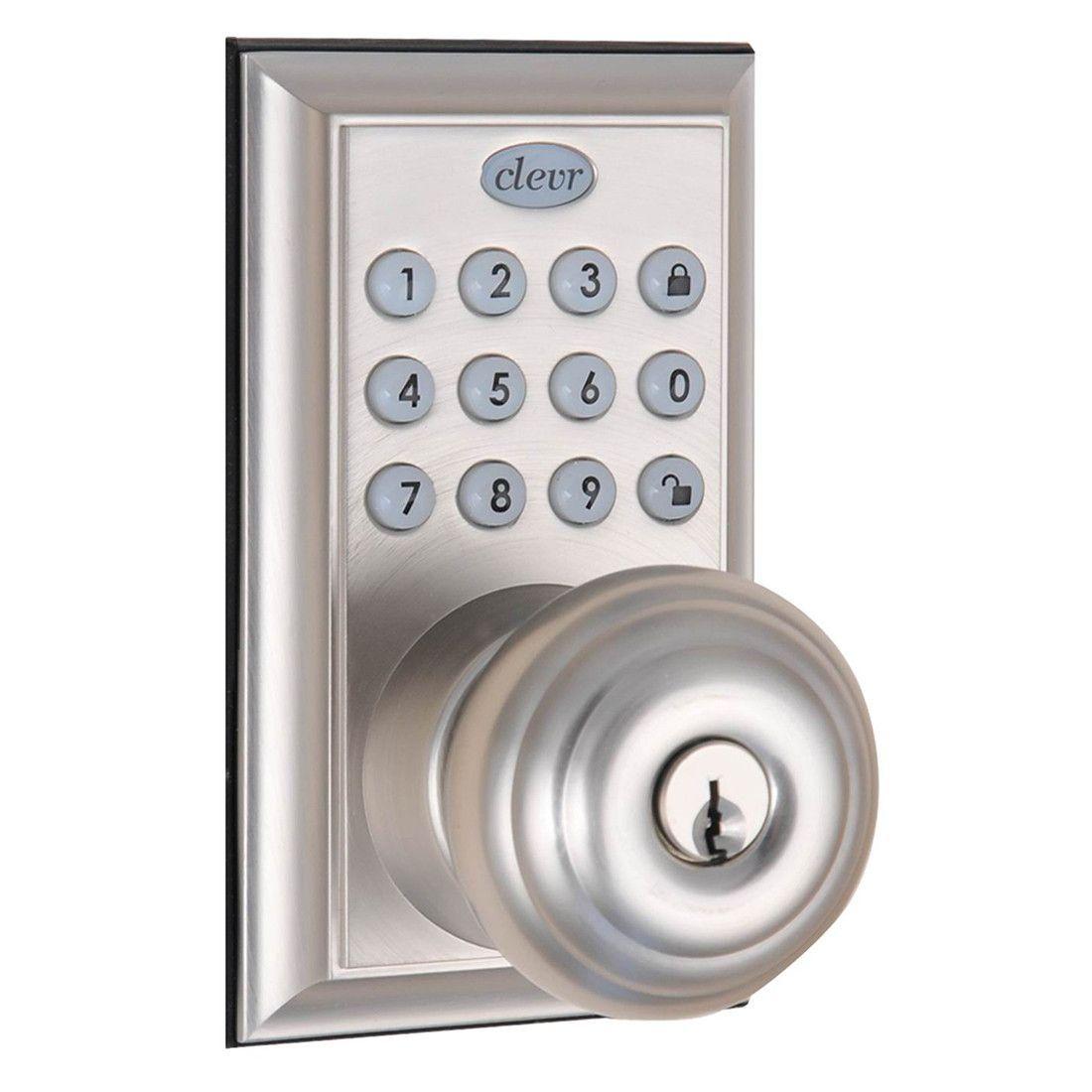 Clevr Indoor / Outdoor Electronic Keypad Keyless Entry Door