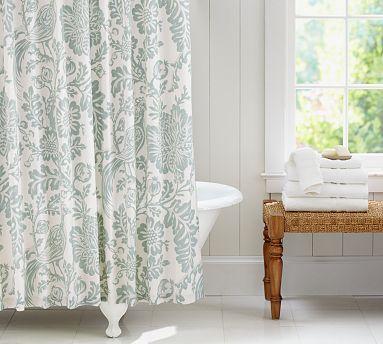 Arista Palampore Shower Curtain Potterybarn Pretty Curtain But