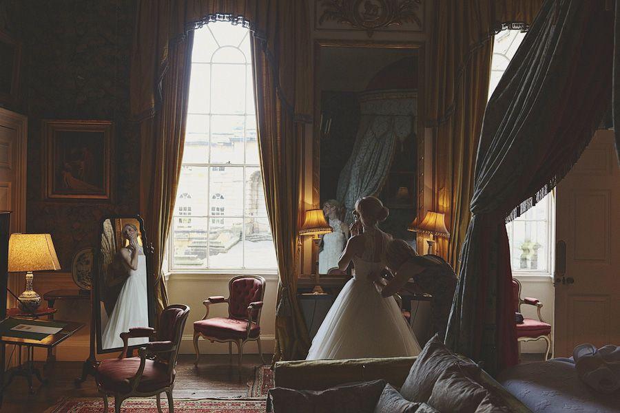 Beautiful and dramatic shot for Orange Hall. Castle Howard Wedding Photography