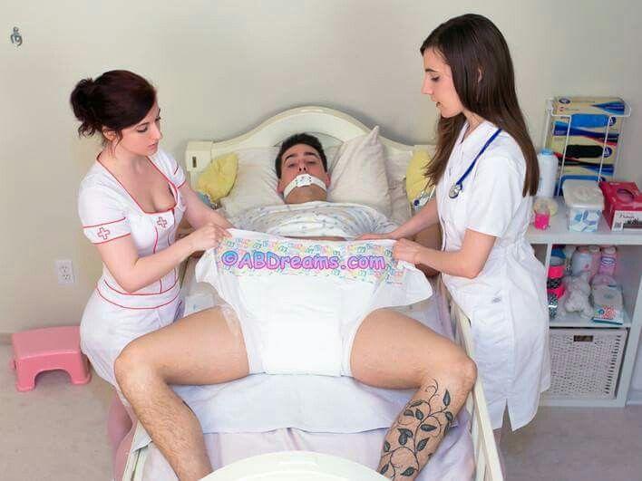 Girl in medical bondage not happens))))