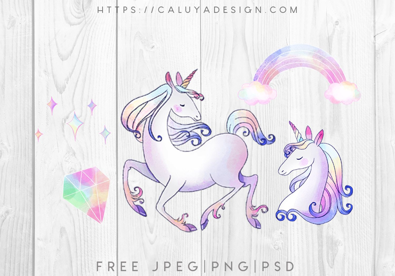 Free Watercolor Magical Unicorn Graphic with PNG, JPEG & PSD - Unicorn graphic, Diy planner stickers, Christmas svg, Magical unicorn, Christmas typography, Planner stickers - Free Watercolor Magical Unicorn Graphic with PNG, JPEG & PSD format by Caluya Design  Perfect for your DIY projects, printable art, graphic design, wall decor, DIY planner stickers and more! Free for personal use!