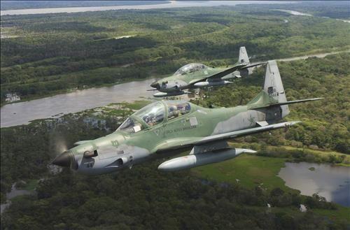 """기사 대표 이미지:""""2차대전 전투기? """"…아프간 투입된 미 A-29 프로펠러 경공격기"""
