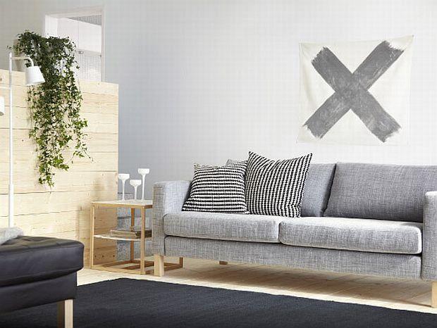 Trzyosobowa sofa KARLSTAD od IKEA Cena 1799 zł zdjęcie