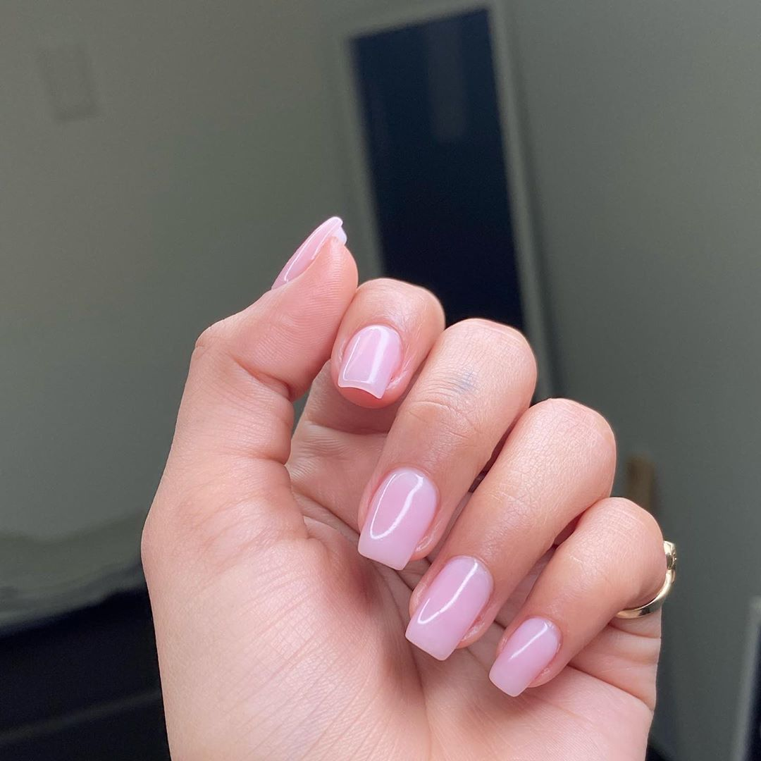Gigi On Instagram I Am Now Offering Polygel Nails Ladies Polygel Is A Healthier Alternative To Acrylic It Can Be Appli In 2020 Pink Nail Art Nails Pink Nails