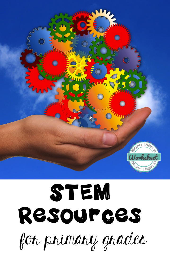 STEM Resource for Primary Grades - More Than a Worksheet