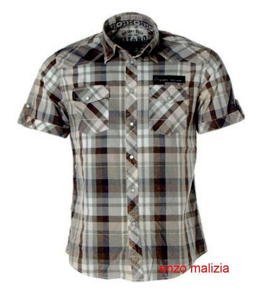 Camicia maniche corte uomo XXL SHIRT CAMICIA MANICHE CORTE CAMICIE misure grandi 3xl 4xl 5xl 6xl 7xl