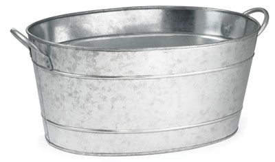 Tablecraft Bt1914 5 1 2 Gal Oval Cooling Tub 19 L X 14 W X 9 H