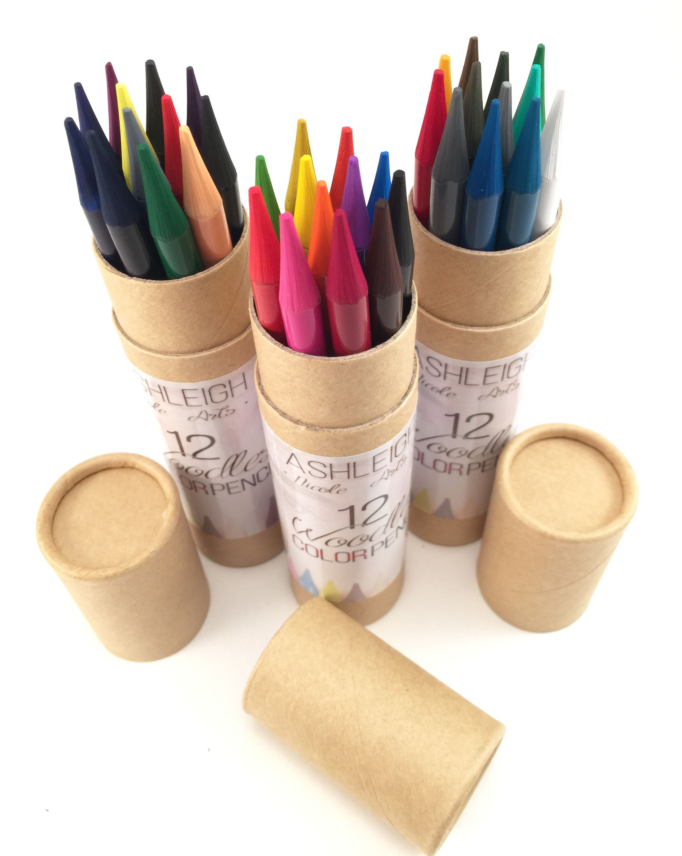Woodless Colored Pencils Now In 36 Vibrant Color
