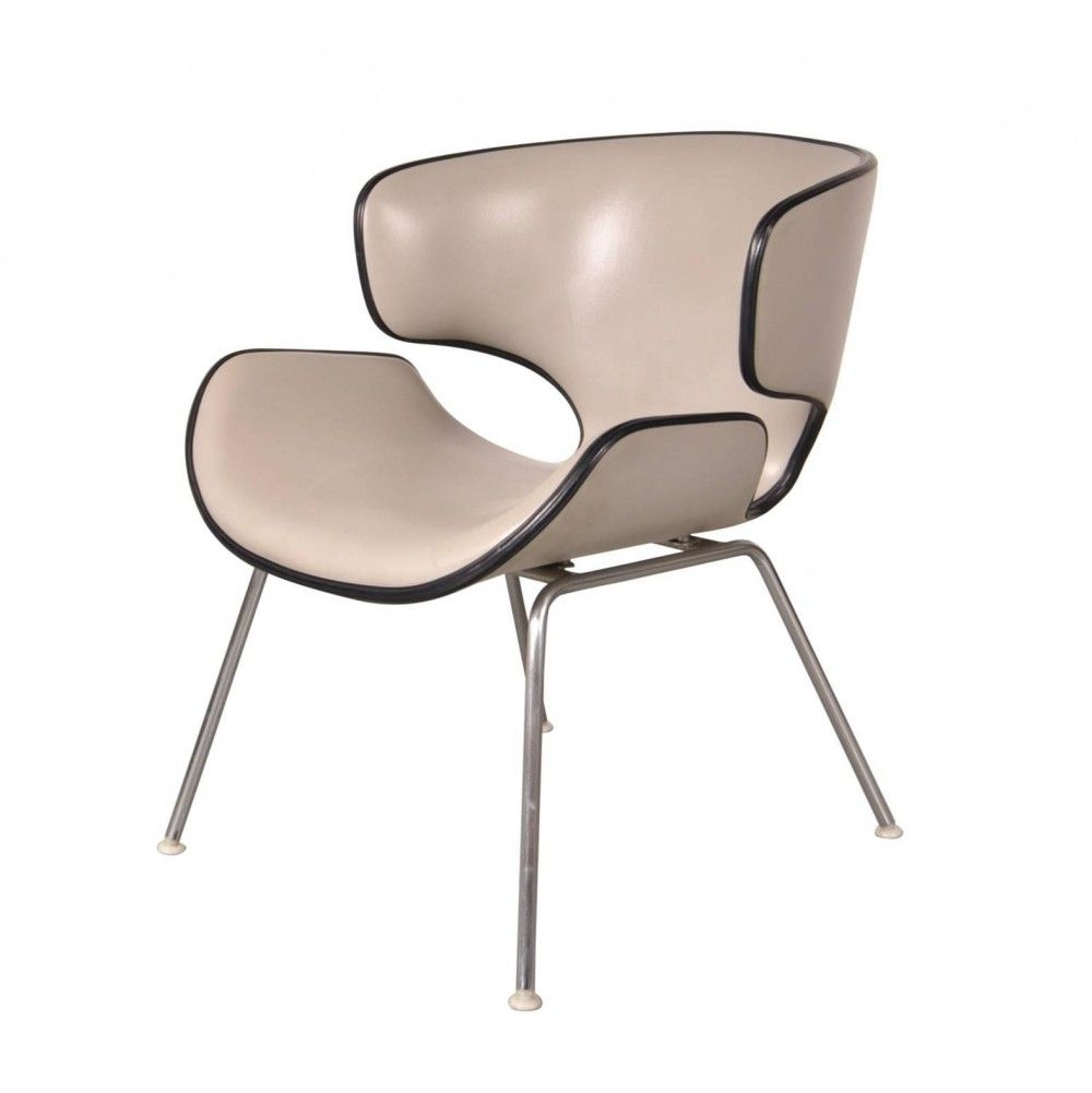 Easy Chair T 3048m By Isamu Kenmochi For Tendo Japan