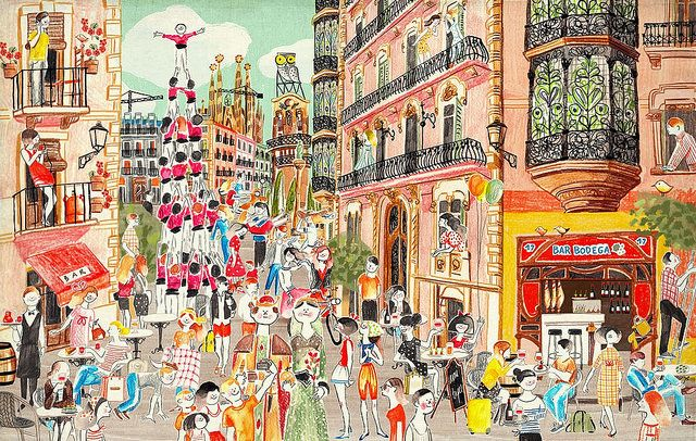 My Neighbourhood Avec Images Illustration