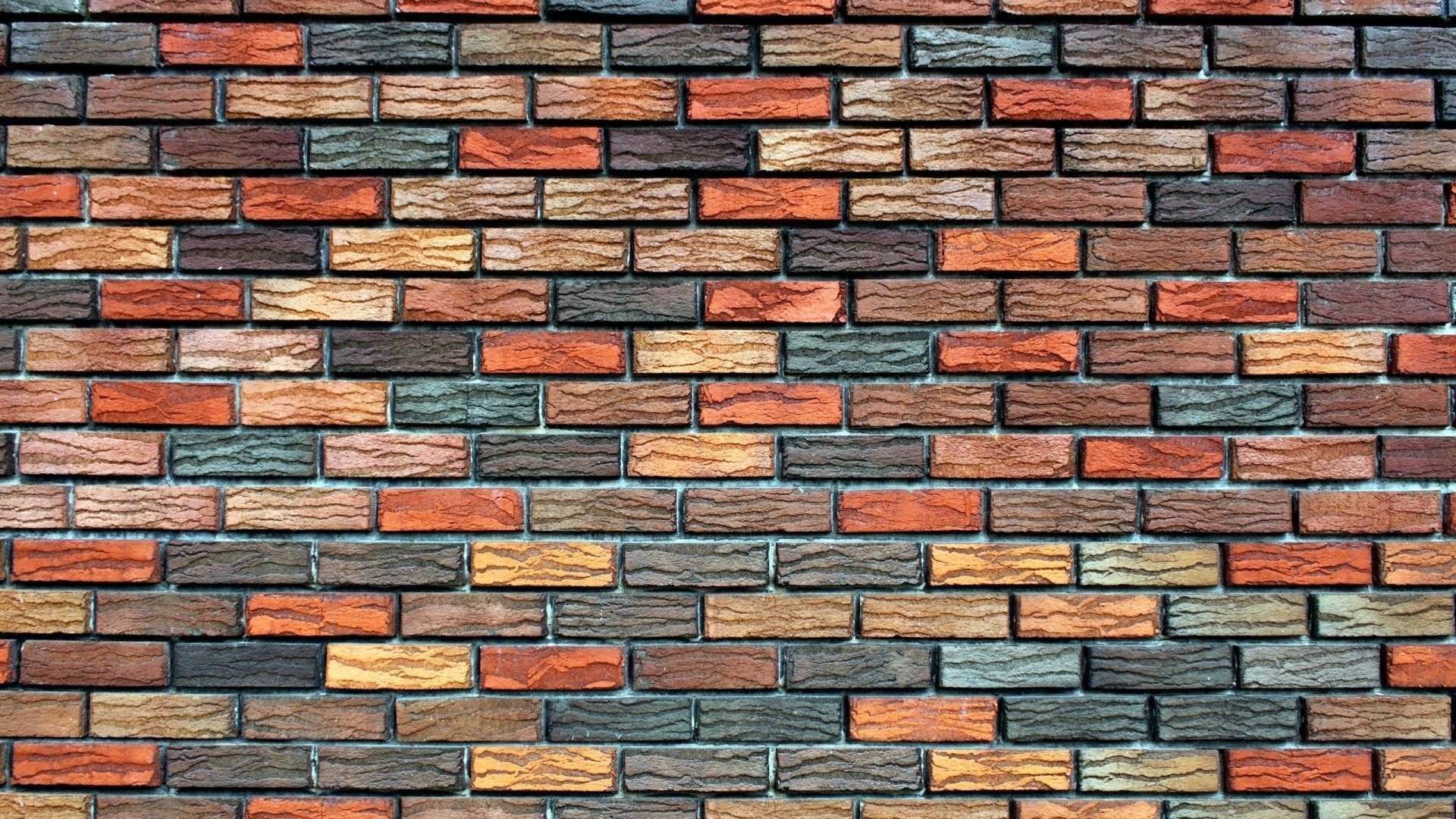 Bricks Texture Background Wall Hd Wallpaper 1080p In 2020 Brick Wallpaper Cool Wallpapers For